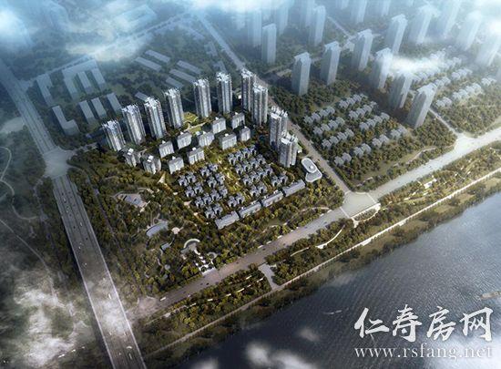 城北新城万景新项目即将过规,设计方案曝光!