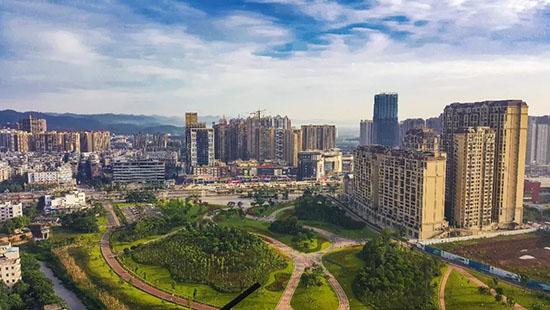 ▲成渝双城经济圈建设
